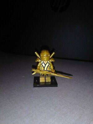 Lego Ninjago golden Ninja Loyd with Weapons
