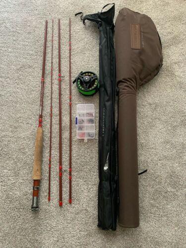 FISHING SIR FLY FISHING STARTER KIT RIFFLE 5-6 , 4 SEC , 2.74m (9