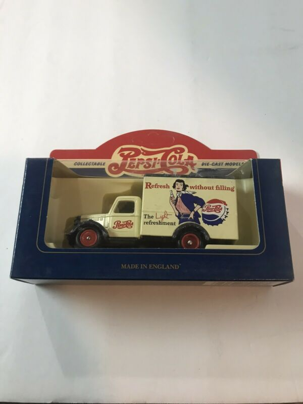 COllectible  PEPSI-COLA 59007 1950 BEDFORD-BRITISH IMPORT TRUCK DieCast