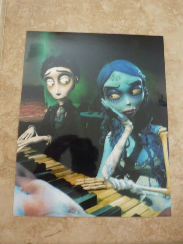 Corpse Bride Johnny Depp Emily Watson Color 8x10 Picture Photo