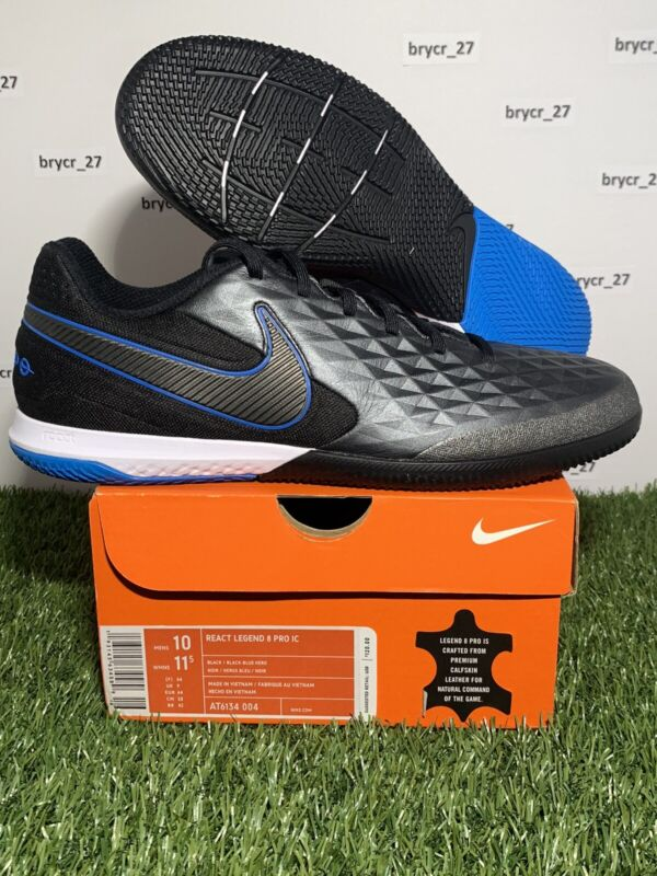 Nike React Tiempo Legend 8 PRO IC Indoor Soccer Shoes AT6134-004 Men