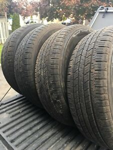 Hankook DynaPro HT tires 225/65/17