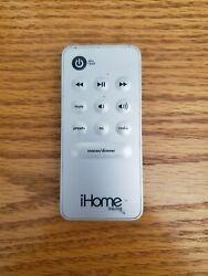 GENUINE iHome Remote Control iH6/iH8 for iH6 or iH8 Portable Alarm Clocks *