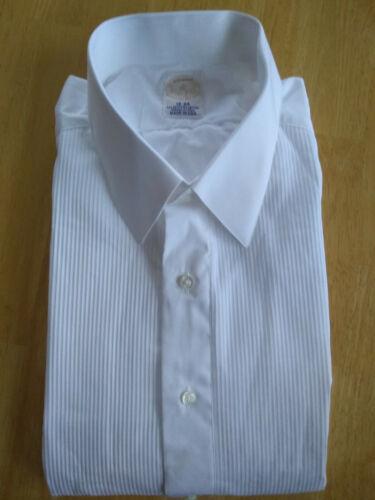 NWOT Brooks Brothers Golden Fleece White Formal Shirt 18-34 Regular MSRP $225