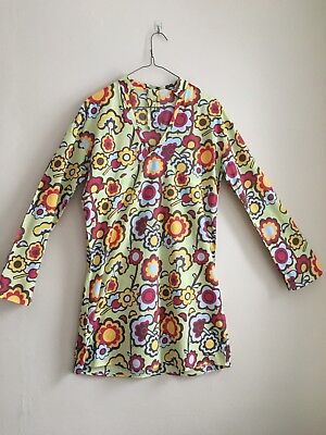 NWOT Large Pepe Jeans Floral Cotton Tunic Dres - Flowers - Hippie - Boho - -