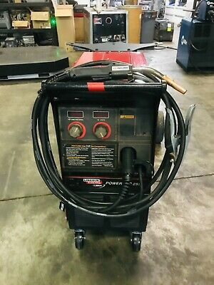 Lincoln Power Mig 255 Mig Welder Package