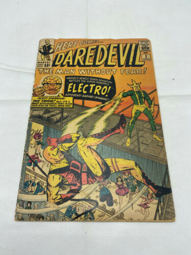 DareDevil #2 Second appearance of Electro