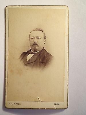 Bonn - Mann mit Bart im Anzug - Portrait / CDV