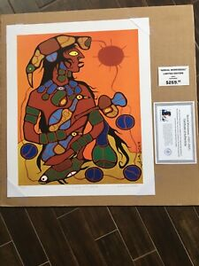 Norval Morrisseau limited edition pring
