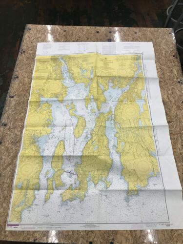 MA nautical chart Narragansett Bay ri rhode island newport providence