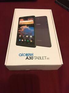 "Brand new sealed - Alcatel a30 tablet 8"" - unlocked 4g LTE"