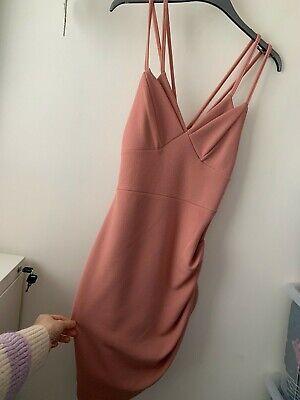BNWOT Pretty Little Thing Pink Dress Size 8