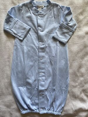 Nwt Kissy Kissy Blue Baby Convertible  Gown Size Newborn