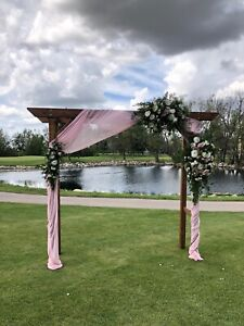 Wedding Archway 8' wide by 8' tall