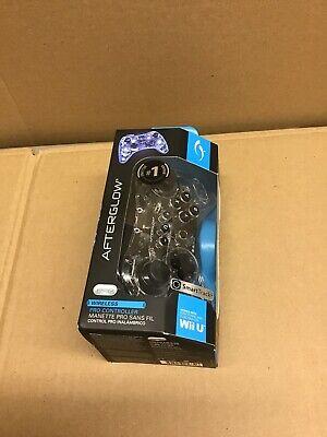 AfterGlow, Wii U Wireless Pro Controller, SmartTrack,  Brand New
