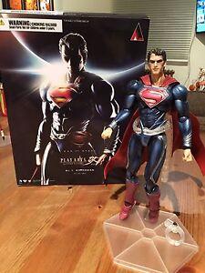 Play Arts Superman Man of Steel Figure