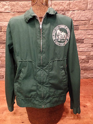 Stokes State Forest Jacket Vtg New Jersey School Of Conservation Dan River Sz M