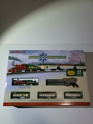 Bachmann Spirit of Christmas N-Scale Electric Train Set