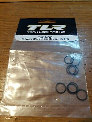 - Team Losi Racing 334000 O-Rings Bleeder Shock Cap 8 : Ten