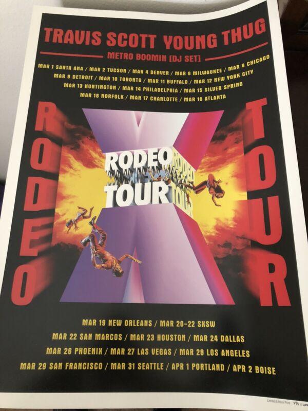 Travis Scott Tour Poster