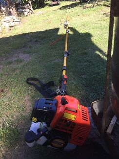 75cc pole chainsaw and hedge trimmer for hire or rent $40 per day
