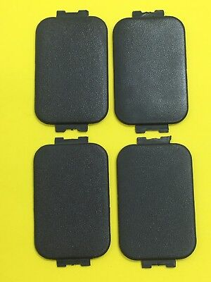 (4) 97-16 FORD F150 F250 F350 Pickup Bed Rail Stake Pocket Trim Cover Cap C44