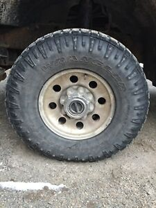 Duratrac truck tires and rims