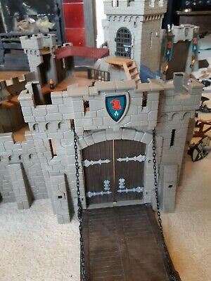 PLAYMOBIL KNIGHTS FALCON CASTLE (almost complete), KNIGHTS, 5 FIGURES, EXTRAS
