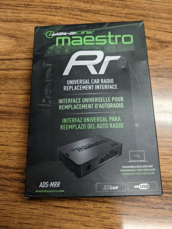 ADS-MRR MAESTRO RR  IDATATLINK  RADIO STEERING WHEEL INTERFACE Harness pack only