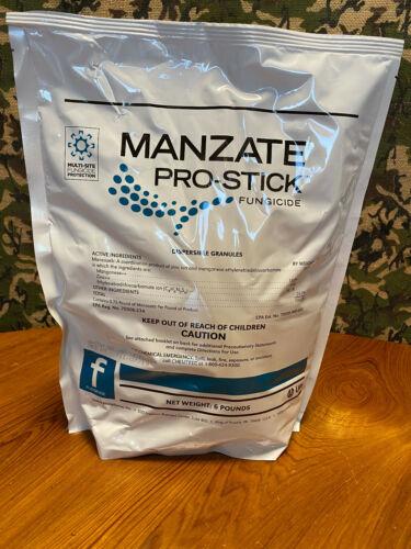 Manzate Pro-Stick (Mancozeb) Fungicide - 6 Pounds