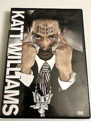 Katt Williams - Its Pimpin Pimpin DVD 2008 Comedy Not Rated Stand Up Comedy