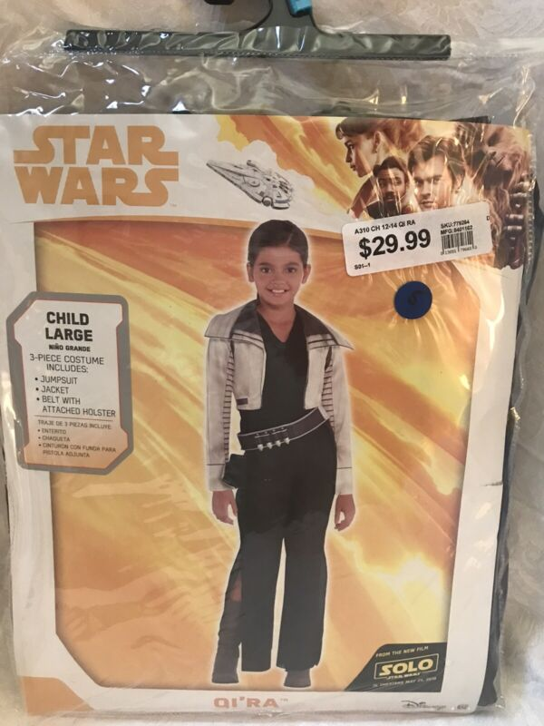 Star Wars Q I' R A Childs Large Halloween Costume 12-14
