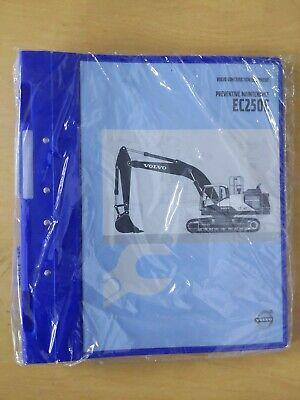 Volvo Construction Equipment Preventive Maintenance Ec250e