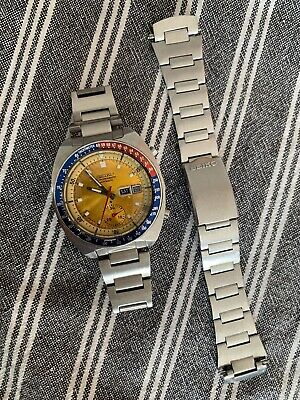 Vintage seiko Watch pogue pepsi 6139 6002 Jan 1976