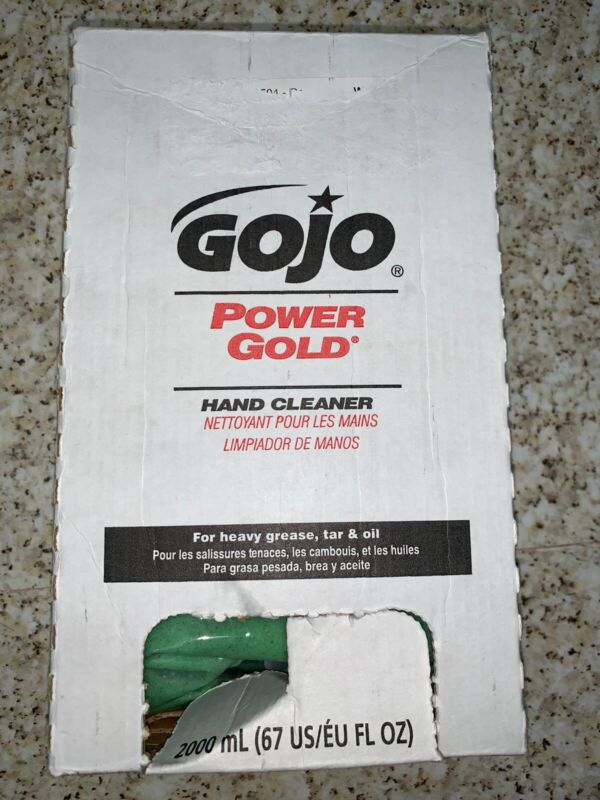 Gojo POWER GOLD Cleaner one box For Heavy Grease Oil And Tar