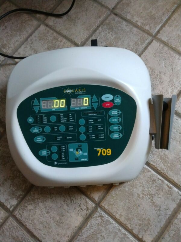 Dynatronics Dynatron Solaris 709 UNTESTED, TURNS ON AS IS