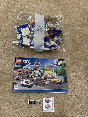 Lego City 60233 TV News Van & Two Minifigures ONLY New
