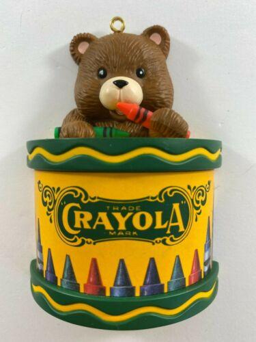 Vintage Christmas Ornament Crayola Crayons Bear by Binney & Smith