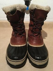 Men's Sorel Caribou Waterproof Winter Boots Size 10 London Ontario image 3