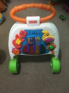 Fisher price walking play stand