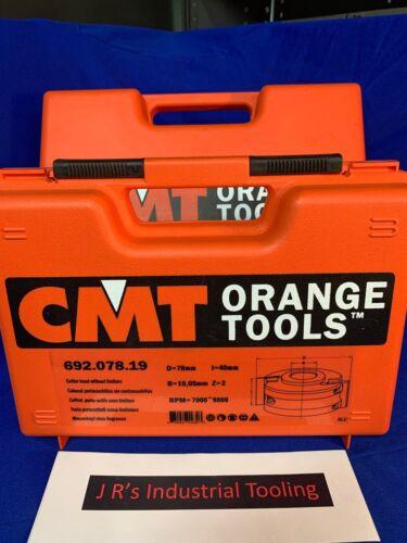 """CMT Tools 692.078.19 - CUTTER HEAD 3/4"""" BORE"""