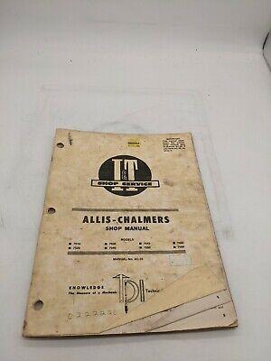 Allis Chalmers 7010 7020 7030 7040 7050 7060 7080 Ac23 It Service Repair Manual