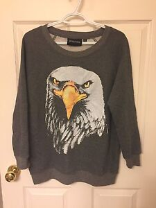 Minkpink Bald Eagle Sweatshirt