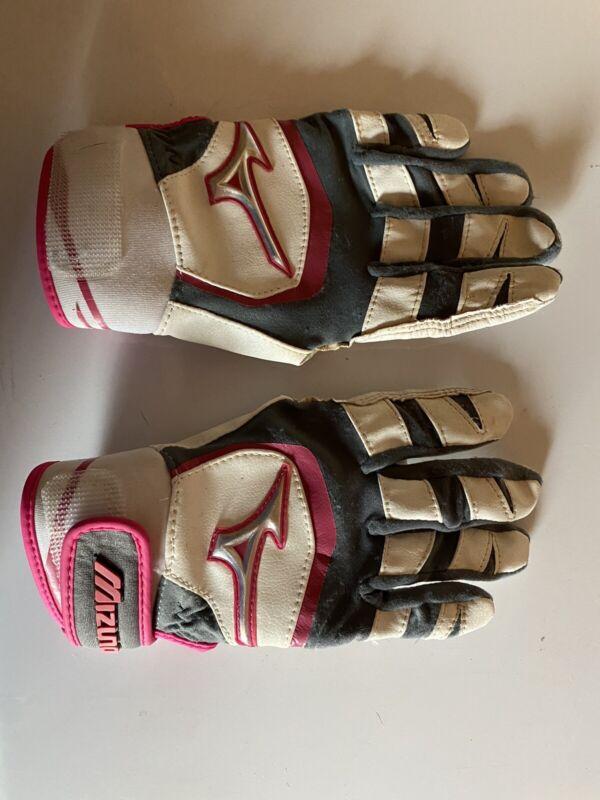 Mizuno Batting Gloves girls Small
