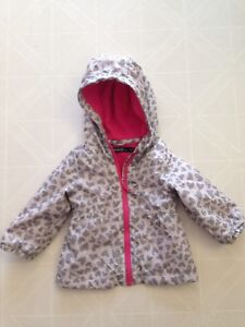 Baby toddler spring fall lined jacket 6-12 months