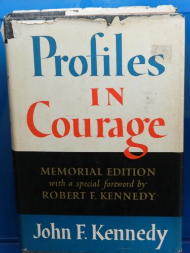 Profiles in Courage  (1964) John F. Kennedy MEMORIAL EDITION!