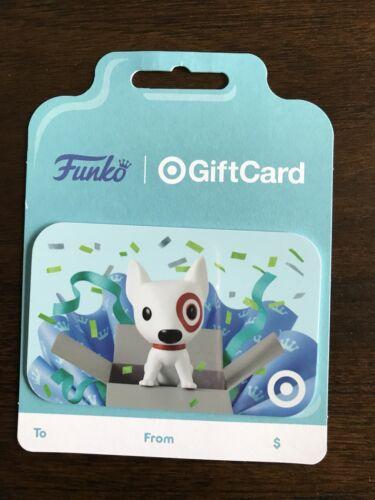 Target Dog Funko Gift Card