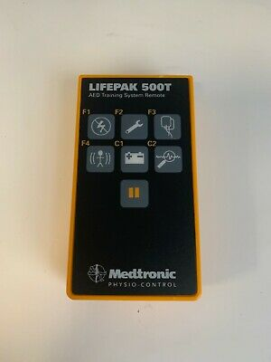 Lifepak 500t Remote Control For Lifepak 500 Aed Training System - Used