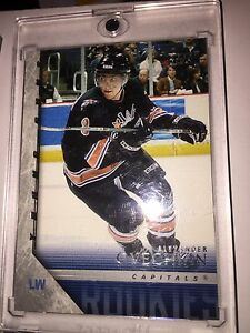 Ovechkin Young gun official rookie cards plus freebies!!