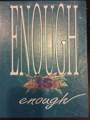 Cibola High School Yearbook  Albuquerque  New Mexico  1995  Enough Is Enough